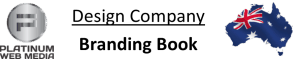 design company brand book